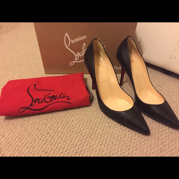 new concept 340d8 6bba3 100% Authentic Christian Louboutin Apostrophy 38.5 NWT